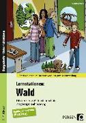 Cover-Bild zu Lernstationen: Wald von Kremer, Gabriele