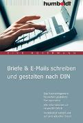 Cover-Bild zu Briefe & E-Mails schreiben und gestalten nach DIN von Hovermann, Eike