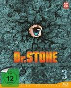 Cover-Bild zu Dr.Stone - Blu-ray 3 von Lino, Shinya (Prod.)