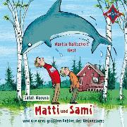 Cover-Bild zu Matti und Sami und die drei größten Fehler des Universums (Audio Download) von Naoura, Salah