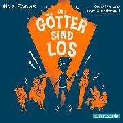 Cover-Bild zu Die Götter sind los (Audio Download) von Evans, Maz