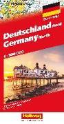 Cover-Bild zu Deutschland Nord Strassenkarte 1:500 000. 1:500'000 von Hallwag Kümmerly+Frey AG (Hrsg.)