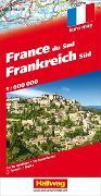 Cover-Bild zu Frankreich Süd Strassenkarte 1:600 000. 1:600'000 von Hallwag Kümmerly+Frey AG (Hrsg.)