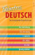Cover-Bild zu Fehlerfrei Deutsch - Das komplette Grundwissen von Schreiner, Kurt