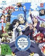 Cover-Bild zu Meine Wiedergeburt als Schleim in einer anderen Welt - Blu-ray 1 mit Sammelschuber (Limited Edition) von Kikuchi, Yasuhito (Prod.)