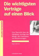 Cover-Bild zu Die wichtigsten Verträge auf einen Blick von Hürlimann, Brigitte
