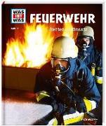 Cover-Bild zu WAS IST WAS Band 114 Feuerwehr. Retter im Einsatz von Finan, Karin