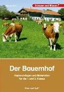 Cover-Bild zu Der Bauernhof - Kopiervorlagen und Materialien von Prinz, Johanna