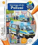 Cover-Bild zu tiptoi® Unterwegs mit der Polizei von Küntzel, Karolin