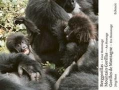 Cover-Bild zu Berggorillas. Gorilles de montagne. Mountain Gorillas von Hess, Jörg