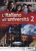 Cover-Bild zu L'Italiano All'Universita : Libro + CD Audio 2 + CD (Level B1-B2) von La Grassa, Matteo