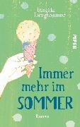 Cover-Bild zu Immer mehr im Sommer von Langhammer, Franziska