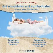 Cover-Bild zu Gut einschlafen und durchschlafen - Hypnose Audioprogramm (Audio Download)