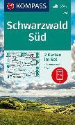 Cover-Bild zu KOMPASS Wanderkarte Schwarzwald Süd. 1:50'000
