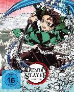Cover-Bild zu Demon Slayer - Staffel 1 - Vol.1 - Blu-ray von Kondo, Hikaru (Hrsg.)