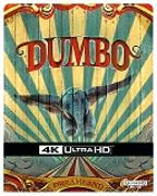 Cover-Bild zu Burton, Tim (Reg.): Dumbo - 4K+2D - LA - Steelbook (2 Disc)