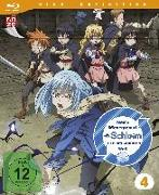 Cover-Bild zu Meine Wiedergeburt als Schleim in einer anderen Welt - Blu-ray 4 von Kikuchi, Yasuhito (Prod.)