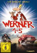 Cover-Bild zu Werner 1-5 - Königbox von Büchner, Klaus (Schausp.)