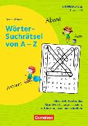 Cover-Bild zu Rätseln und Üben in der Grundschule - Deutsch. Wörter-Suchrätsel von A-Z von Wehren, Bernd