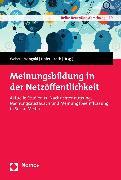 Cover-Bild zu Meinungsbildung in der Netzöffentlichkeit (eBook) von Weber, Patrick (Hrsg.)