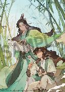 Cover-Bild zu Mo Xiang Tong Xiu: The Scum Villain's Self-Saving System: Ren Zha Fanpai Zijiu Xitong (Novel) Vol. 1