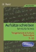 Cover-Bild zu Textgebundener Aufsatz - Textanalyse von Diepold, Peter