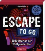 Cover-Bild zu Escape to go. 50 Mysterien der Weltgeschichte von von Gnatz, Ella
