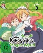 Cover-Bild zu Miss Kobayashis Dragon Maid - Blu-ray 3 von Takemoto, Yasuhiro (Hrsg.)