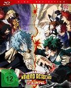 Cover-Bild zu My Hero Academia - 3. Staffel - Blu-ray 1 mit Sammelschuber (Limited Edition) von Nagasaki, Kenji (Hrsg.)