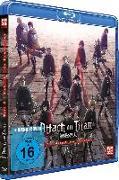 Cover-Bild zu Attack on Titan - Anime Movie Teil 3: Gebrüll des Erwachens - Blu-ray von Kobayashi, Yasuko (Hrsg.)