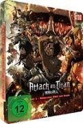 Cover-Bild zu Attack on Titan - Anime Movie Teil 1: Feuerroter Pfeil und Bogen - Steelcase Blu-ray (Limited Edition) von Araki, Tetsuro (Hrsg.)