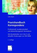 Cover-Bild zu Praxishandbuch Korrespondenz von Sauer, Jutta