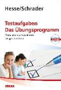 Cover-Bild zu Hesse/Schrader: Testaufgaben - Das Übungsprogramm von Jürgen Hesse Hans Christian S