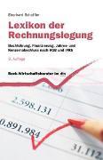 Cover-Bild zu Lexikon der Rechnungslegung von Scheffler, Eberhard