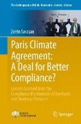 Cover-Bild zu Paris Climate Agreement: A Deal for Better Compliance? von Savasan, Zerrin
