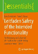 Cover-Bild zu Leitfaden Safety of the Intended Functionality (eBook) von Schnieder, Lars