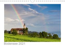 Cover-Bild zu Kalender365. Com, K. A.: Bodensee 2021 (Wandkalender 2021 DIN A4 quer)
