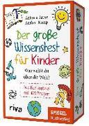 Cover-Bild zu Der große Wissenstest für Kinder - Was weißt du über die Welt?