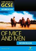 Cover-Bild zu Gould, Mike: Of Mice and Men: York Notes for GCSE Workbook (Grades A*-G)