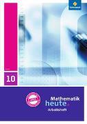 Cover-Bild zu Mathematik heute 10. Arbeitsheft mit Lösungen. Hessen