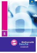 Cover-Bild zu Mathematik heute 6. Arbeitsheft mit Lösungen. Hessen