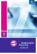 Cover-Bild zu Mathematik heute 7. Arbeitsheft mit Lösungen. Hessen