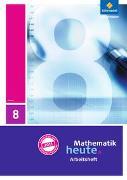 Cover-Bild zu Mathematik heute 8. Arbeitsheft mit Lösungen. Hessen