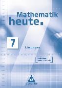 Cover-Bild zu Mathematik heute - Ausgabe 2006 Realschule Rheinland-Pfalz von Griesel, Heinz (Hrsg.)