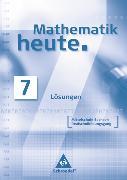 Cover-Bild zu Mathematik heute - Ausgabe 2004 Mittelschule Sachsen von Griesel, Heinz (Hrsg.)