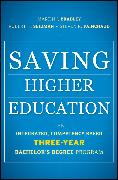 Cover-Bild zu Bradley, Martin J.: Saving Higher Education (eBook)