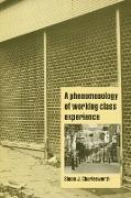 Cover-Bild zu Charlesworth, Simon J.: A Phenomenology of Working-Class Experience