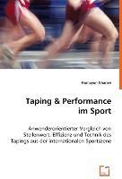 Cover-Bild zu Taping & Performance im Sport von Gharavi, Homayun