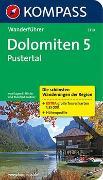 Cover-Bild zu Hüsler, Eugen E.: KOMPASS Wanderführer Dolomiten 5, Pustertal. 1:35'000