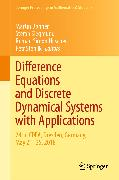 Cover-Bild zu Bohner, Martin (Hrsg.): Difference Equations and Discrete Dynamical Systems with Applications (eBook)